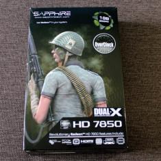 Placa video Sapphire Radeon HD7850 Dual-X