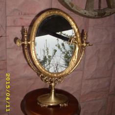 Oglinda bronz art nouveau