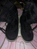 Cizme negre fas 17 cm marimea 26 R1