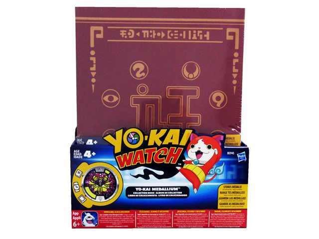 Album Yo-Kai pentru colectionat medalii