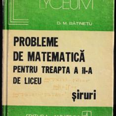 Probleme de fizica pentru treapta a 2-a de liceu_ed. 1979. Siruri * 100