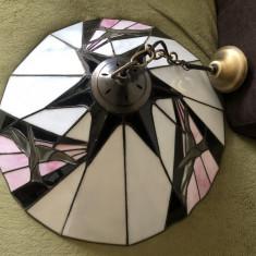 Lampa veche,pendul,candelabru stil Tiffany,Anglia