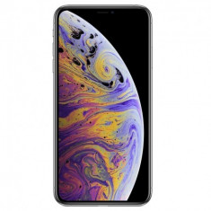 Telefon mobil Apple iPhone XS Max, 64GB, Silver, Smartphone, Neblocat