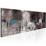 Tablou canvas - MaSina de argint - 135 x 45 cm, Artgeist