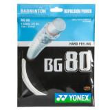 Cordaj Yonex BG 80 Alb