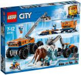 Joc LEGO® City - Baza mobila de explorare arctica 60195
