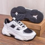 Pantofi sport barbati albi Halomio
