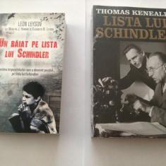 UN BAIAT PE/LISTA LUI SCHINDLER-THOMAS KENEALLY/LEON LEYSON (2 VOL)-=rf17/3