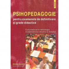 Psihopedagogie pentru examenele de definitivare si grade didactice - Colectiv de autori