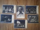 Lot 6 foto originale operă Jan Cieplinsky, autograf, adnotate, 18x12 cm fiecare, Alte tipuri suport muzica