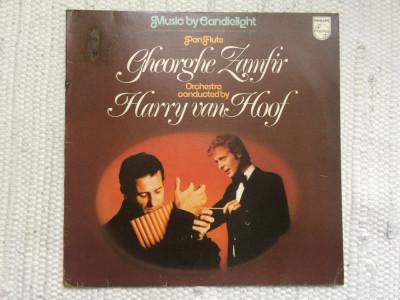 gheorghe zamfir harry van hoof music by candlelight 1978 muzica disc vinyl lp foto