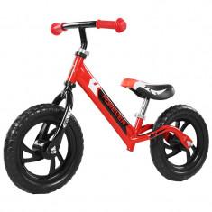 Bicicleta fara pedale (pedagogica) FIVE Libra scaun reglabil Rosu