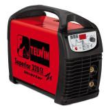 Aparat de sudura tip invertor Telwin Superior 320 CE VRD, 270 A, 9 kW, electrozi 1.6 - 6 mm, IP 23, racire fortata