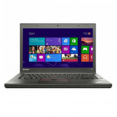 Laptop Lenovo Refurbished ThinkPad T450 14 inch HD Intel Core i5-5300U 8GB DDR3 500GB HDD Webcam Windows 10 Pro Black