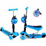 Cumpara ieftin Trotineta evolutiva Scooter 3 in 1 pentru copii - Albastra.