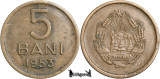 1953, 5 Bani - RPR - Romania