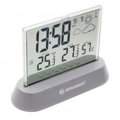 Statie meteo Bresser 7007600QT5000, termometru, higrometru, alarma