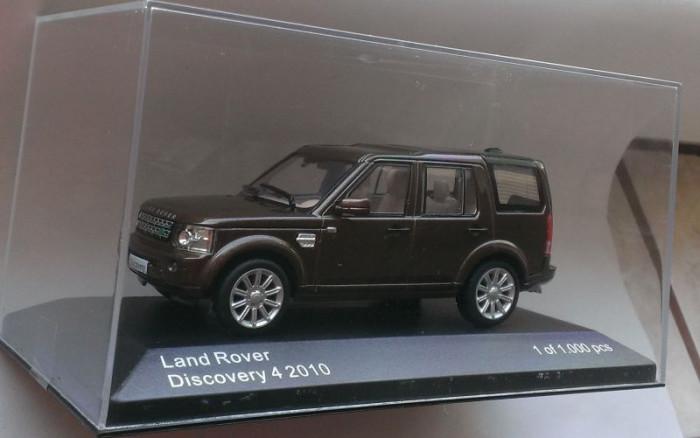 Macheta Land Rover Range Rover Discovery 2010 - Whitebox 1/43