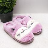 Papuci dama de casa mov Catie-rl
