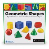 Cumpara ieftin Corpuri geometrice din plastic - 10 piese