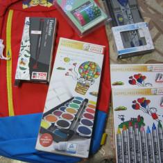 Rucsac si rechizite pentru copii 17, Multicolor