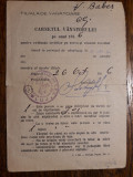 VANATOR - VANATOARE - CARNETUL VANATORULUI 1956 - FILIALA VANAT. CLUJ - V.BABES