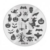 Șablon ștampilare DXE19 - Halloween