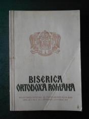 BISERICA ORTODOXA ROMANA. ANUL XC, Nr. 9-10 SEPTEMBRIE OCTOMBRIE 1972 foto