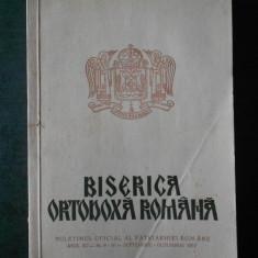 BISERICA ORTODOXA ROMANA. ANUL XC, Nr. 9-10 SEPTEMBRIE OCTOMBRIE 1972