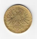 Jeton copie dupa moneda de 100 coroane 1915 Austria