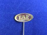 Insigna străină - TAF Mercury - Reclamă / Firmă