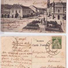 Zalau 1925 - Str Gh. Pop de Basesti, ilustrata circulata