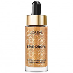 Iluminator lichid L Oreal Paris Star Highlighting Drops Warm Gold 15 ml