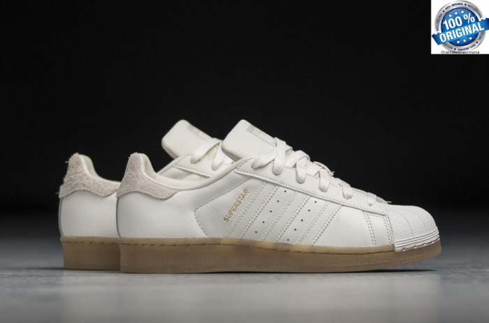 ADIDASI ORIGINALI 100% Adidas Superstar Leather NR 36