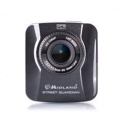 Resigilat : DVR auto Midland STREET GUARDIAN GPS full HD 1080p cod C1174.01