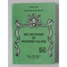 MID DICTIONAR DE PROVERBE ITALIENE , 1995