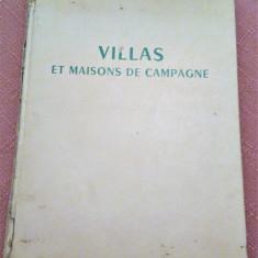 Villas Et Maisons De Campagne - Carte de arhitectura in limba franceza