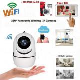 Baby Monitor Wi-fi 1280*720 Camera Functie Push To Talk + Sd Card 32 gb -259