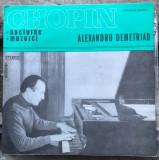 Chopin - Alexandru Demetriad (disc Electrecord)