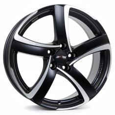 Jante SEAT LEON 7J x 16 Inch 5X112 et38 - Alutec Shark Racing-schwarz-frontpoliert - pret / buc