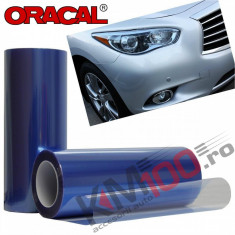 Folie protectie faruri / stopuri ORACAL (100 x 50 cm) - albastru