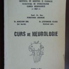 Curs de neurologie- Pendefunda Gheorghe