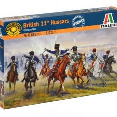 1:72 BRITISH HUSSARS CAVALRY - 12 figures 1:72