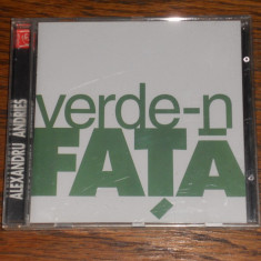 Alexandru Andries - Verde-n fata (prima editie), CD
