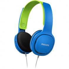 Casti Audio Kids Albastru, Philips