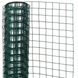 Cumpara ieftin Nature Plasă din sârmă verde 0,5 x 5 m oțel cu plastic 13 mm pătrat