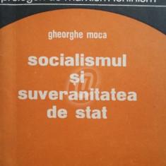 Socialismul si suveranitatea de stat