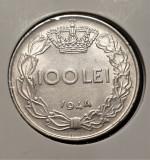 Romania 100 lei 1944, Nichel