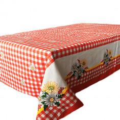 Fata de masa pentru 4 persoane, Clasic romanesc, bumbac 100%, 150x150cm, multicolor