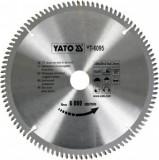 Panza fierastrau circular pentru Aluminiu, Yato YT-6095, 250x100Tx30x3mm
